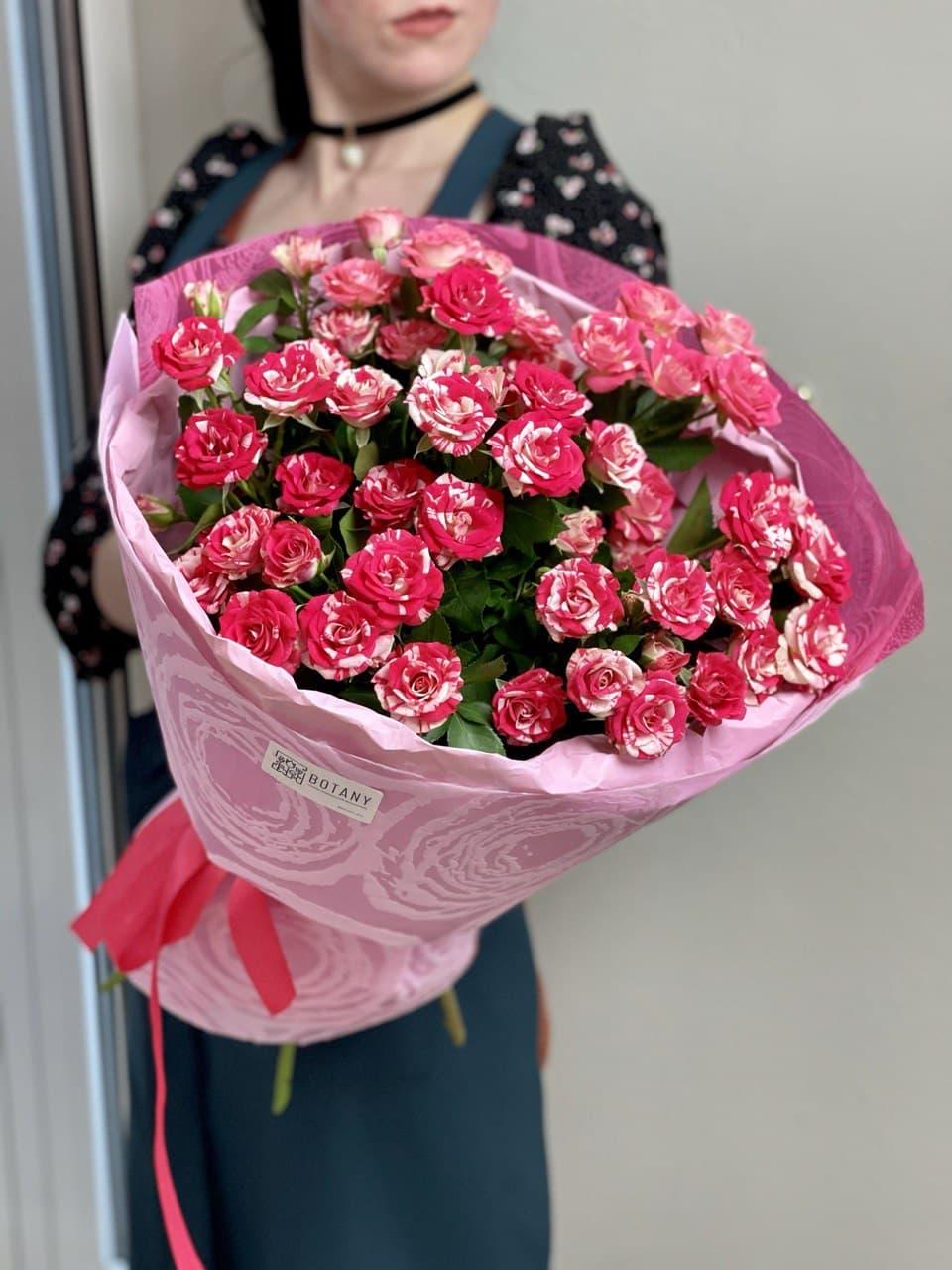 Монобукет из розы №6372