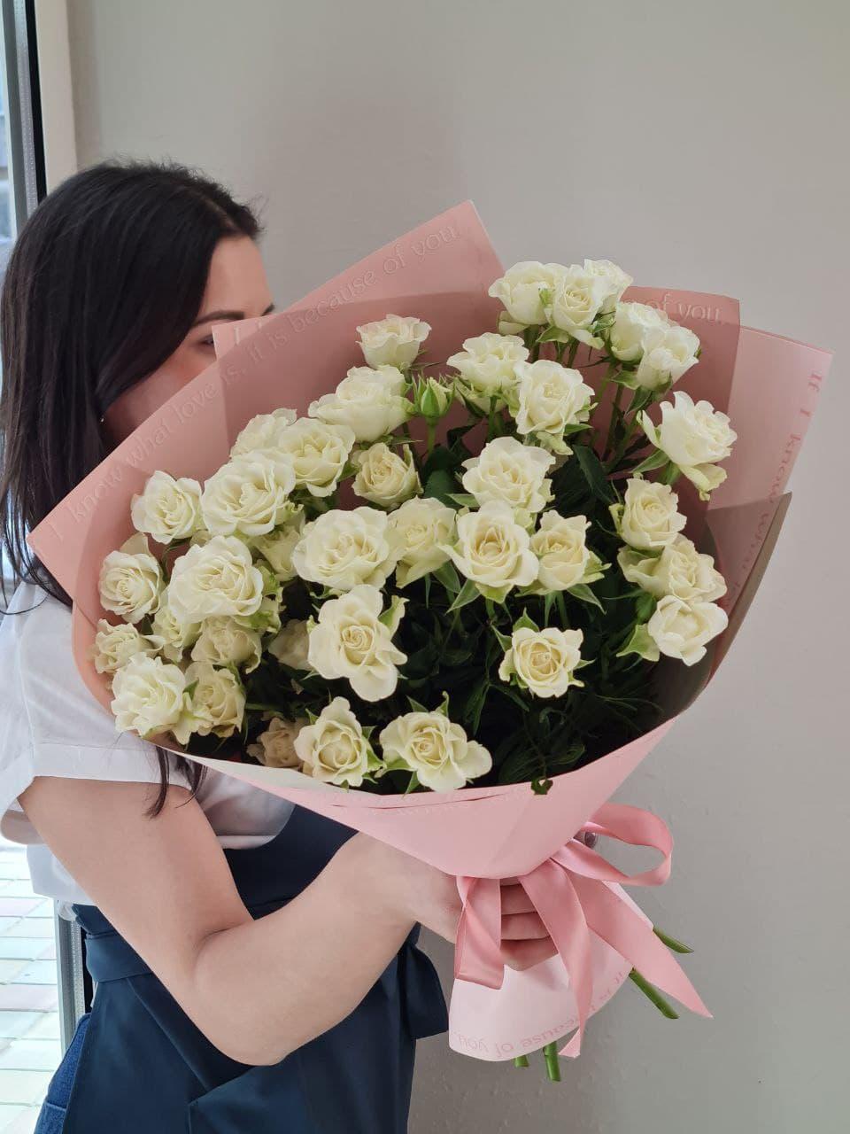 Монобукет из розы №0909