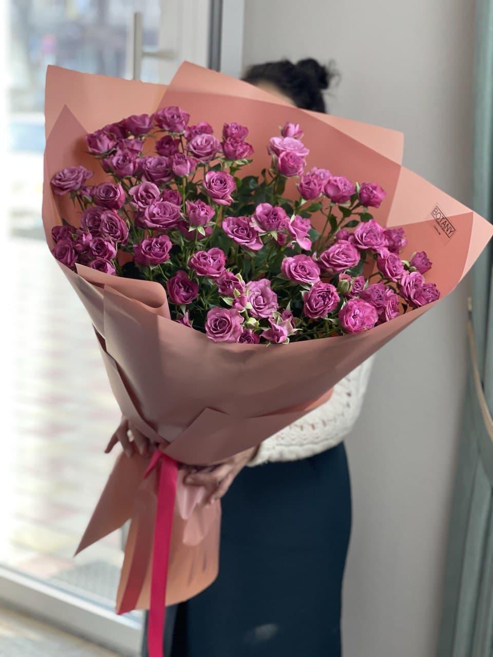 Монобукет из розы №4339
