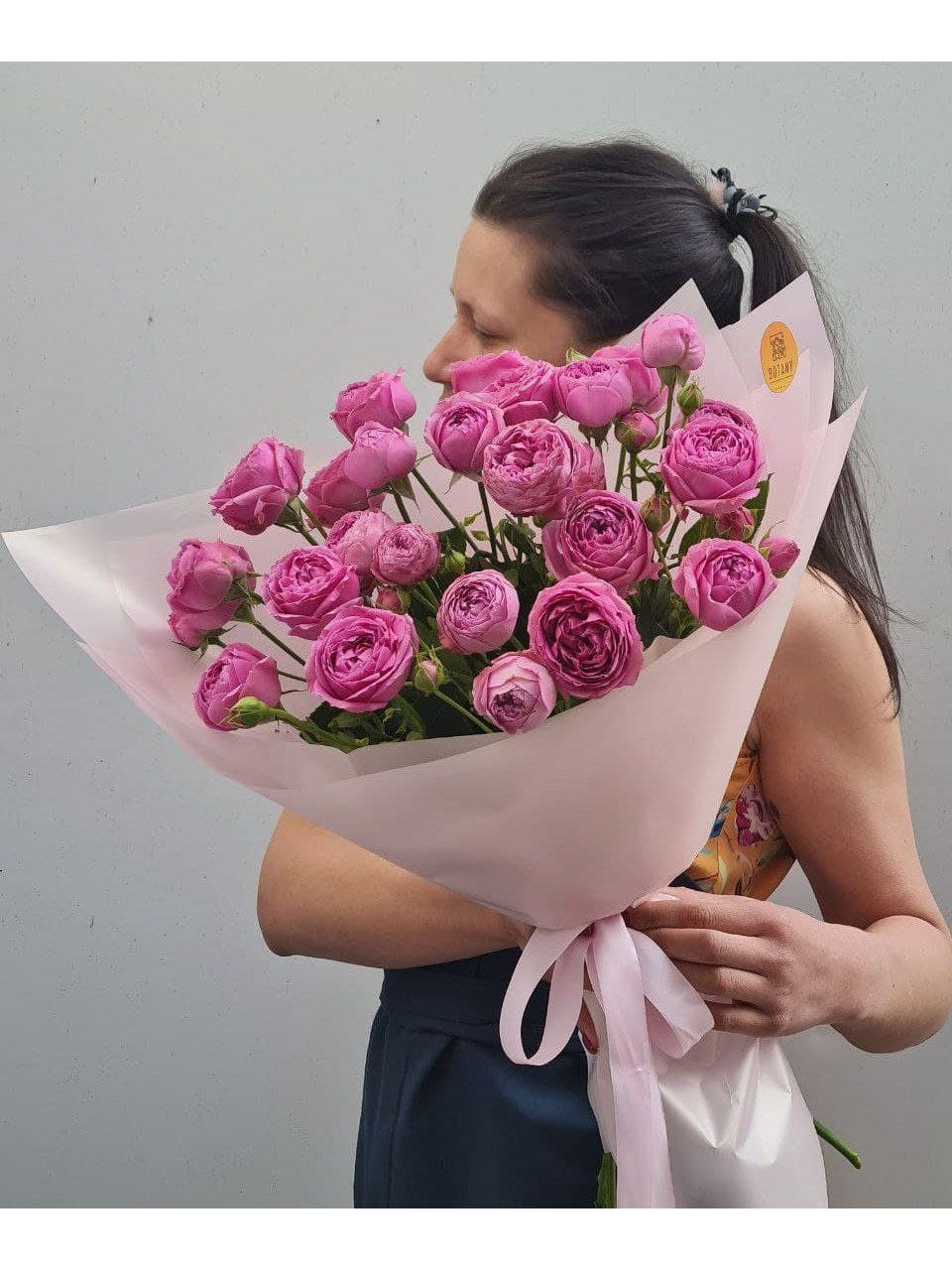 Монобукет из розы L3121