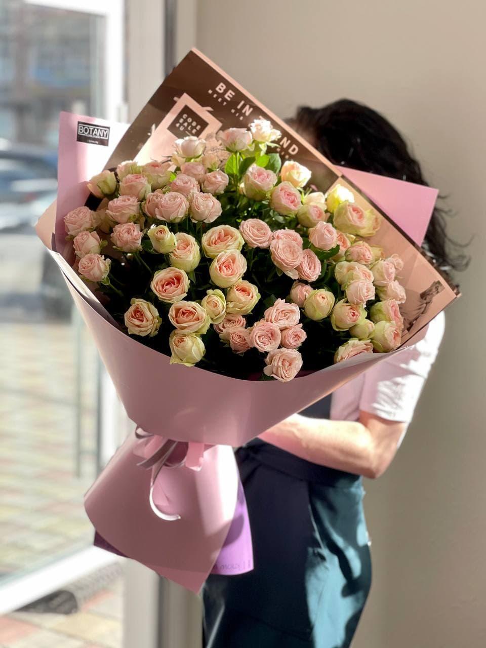 Монобукет из розы №1967
