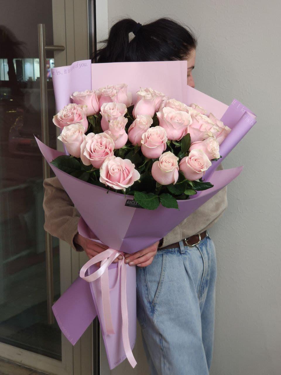 Монобукеты из розы №4145