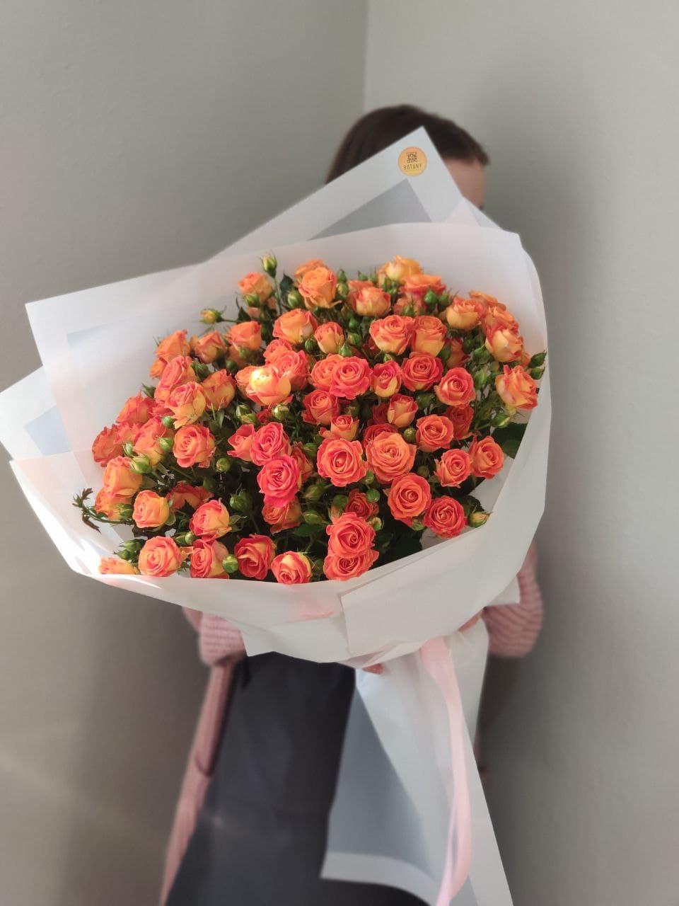 Монобукет из розы №2619