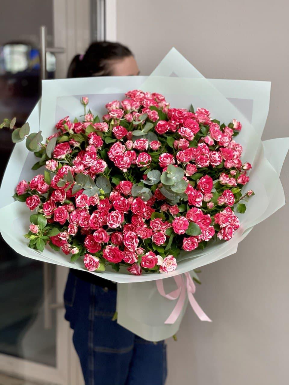 Монобукет из розы №7263