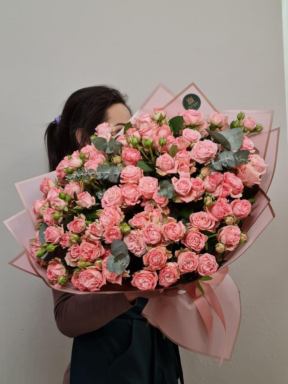 Монобукет из розы №2654