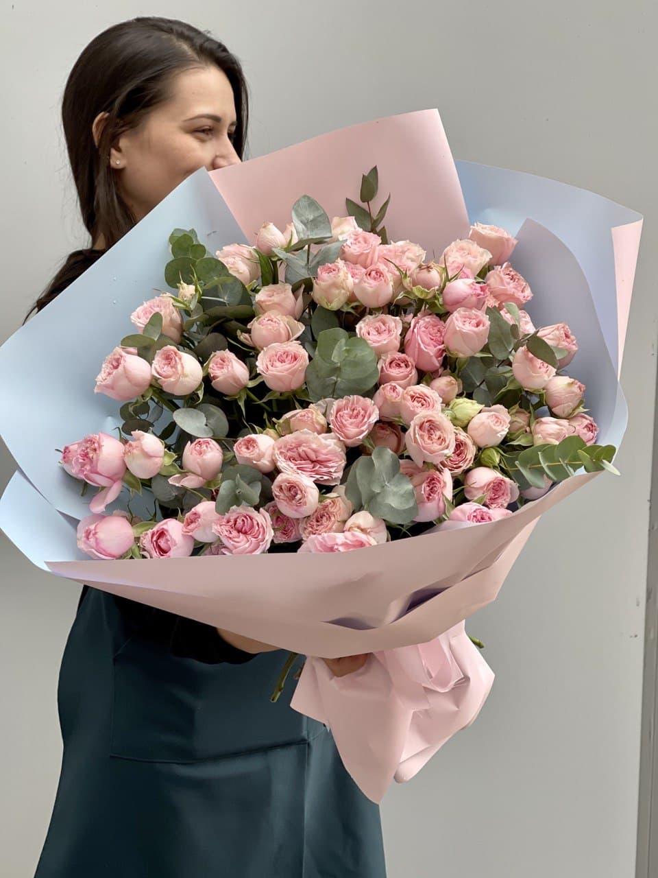 Монобукет из розы №9876
