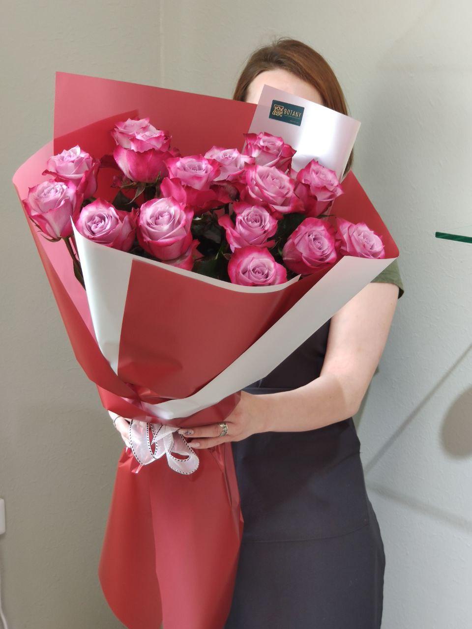 Монобукет из розы L1017