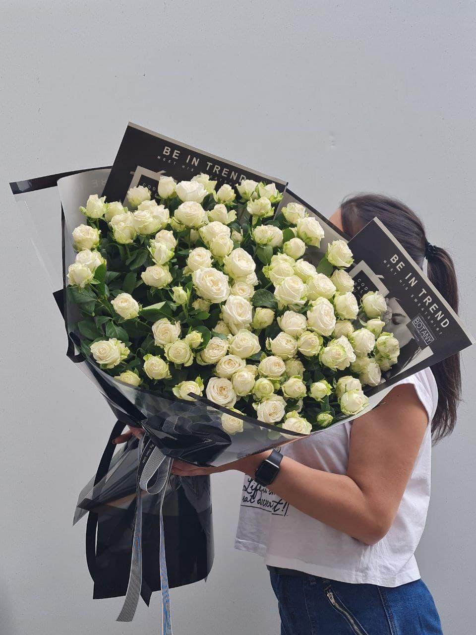 Монобукет из розы L5001