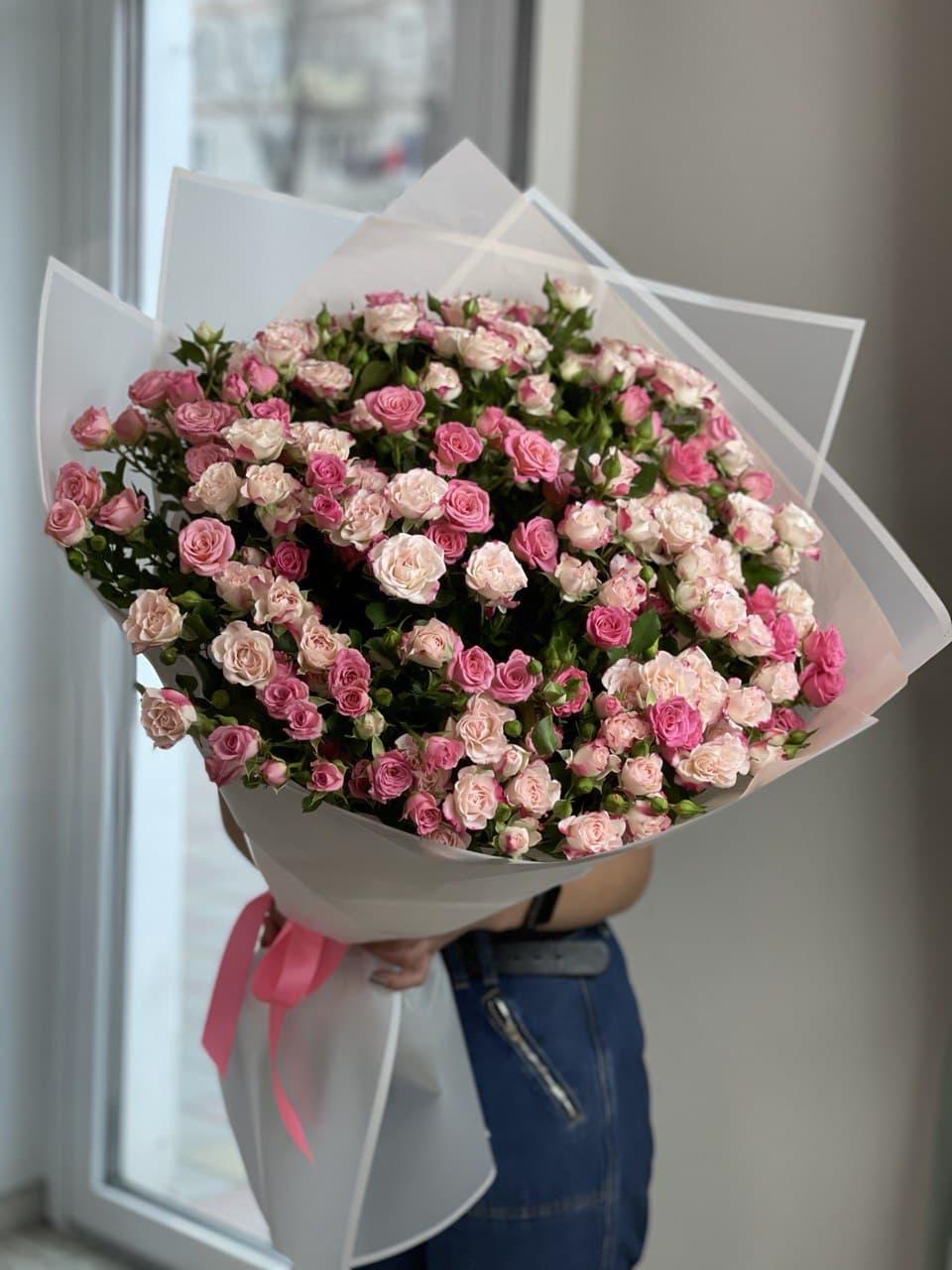 Монобукет из розы L6812