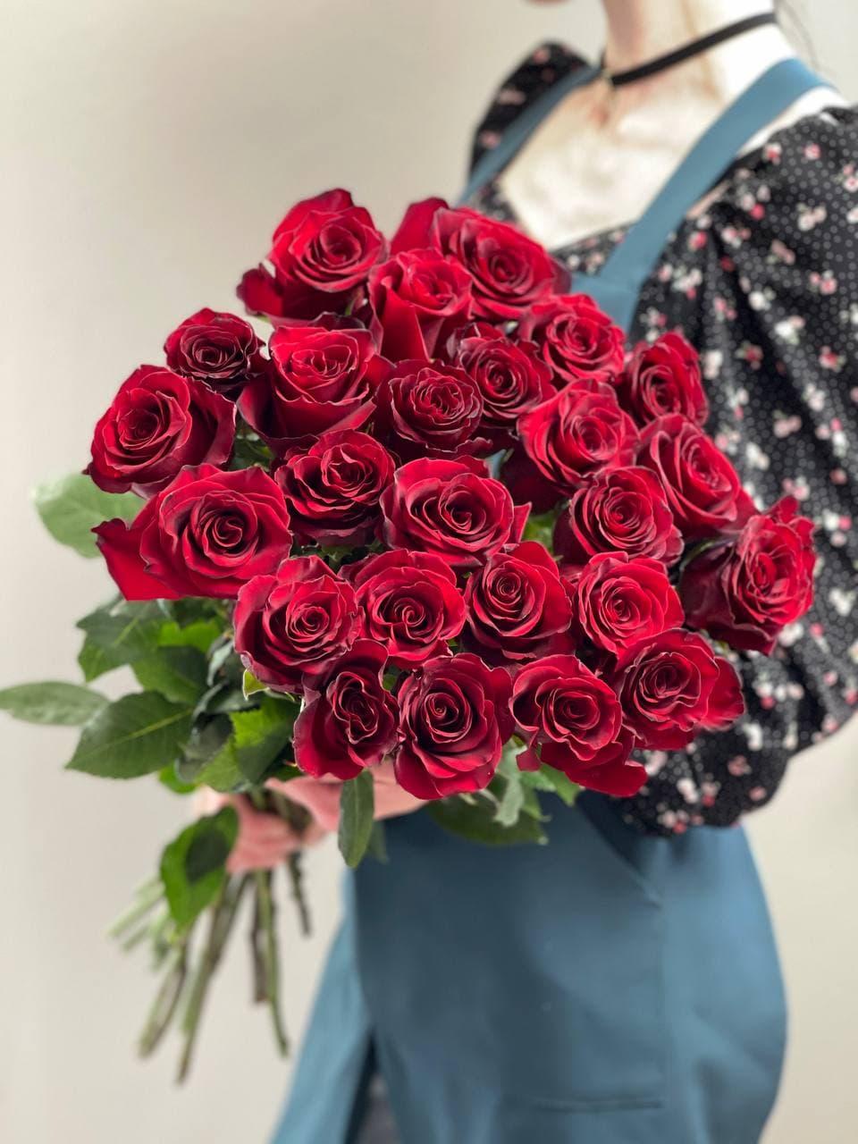 Монобукет из розы «EXPLORER» 25 штук